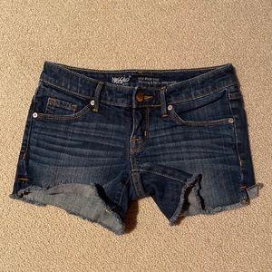 Mossimo Mid Rise Midi Jean Shorts